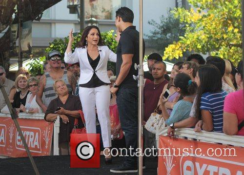 Gloria Estefan at The Grove to on entertainment...