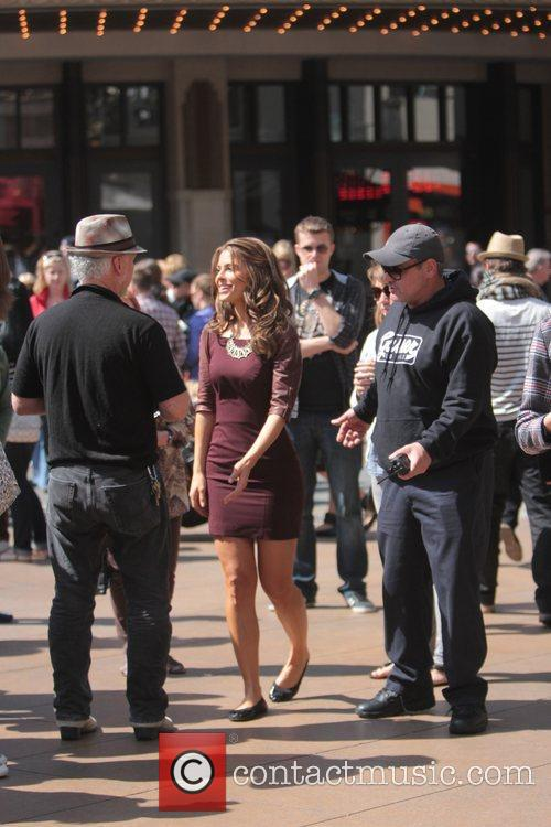 Host Maria Menounos at The Grove to appear...
