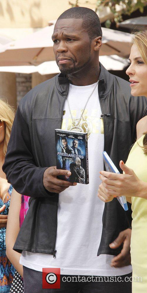 50 Cent,  at The Grove to appear...