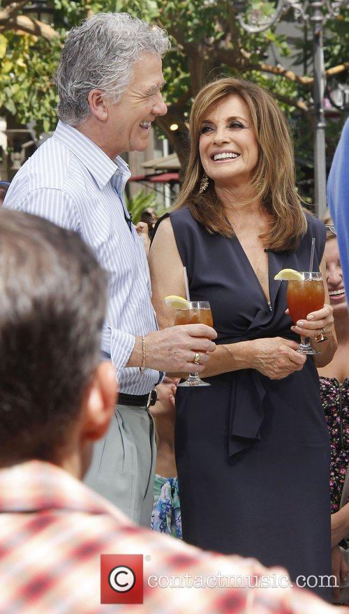Patrick Duffy and Linda Gray