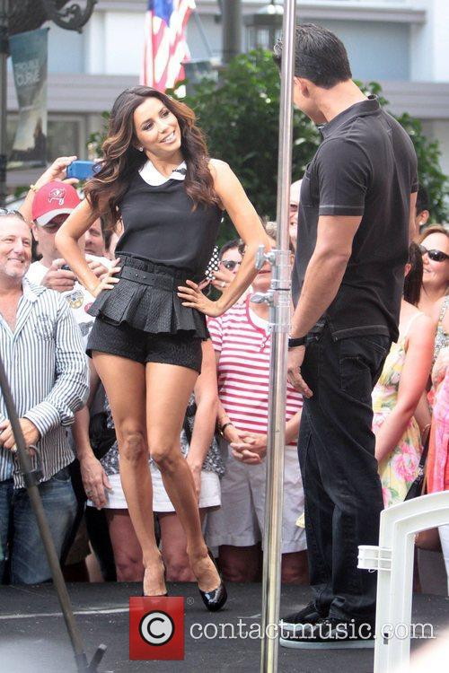 Eva Longoria and Mario Lopez 2