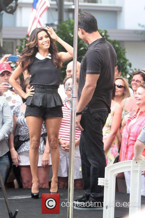 Eva Longoria and Mario Lopez 3