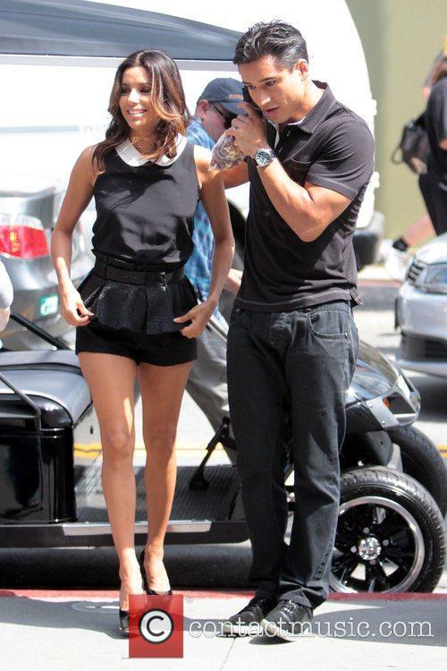 Eva Longoria and Mario Lopez 4