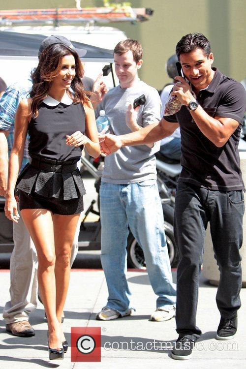 Eva Longoria and Mario Lopez 5