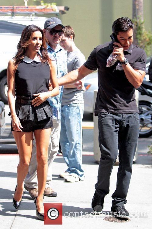 Eva Longoria and Mario Lopez 6