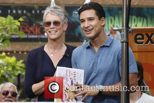 Jamie Lee Curtis and Mario Lopez 30