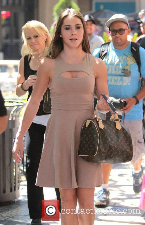 Mckayla Maroney visits 'Extra' at The Grove Los...