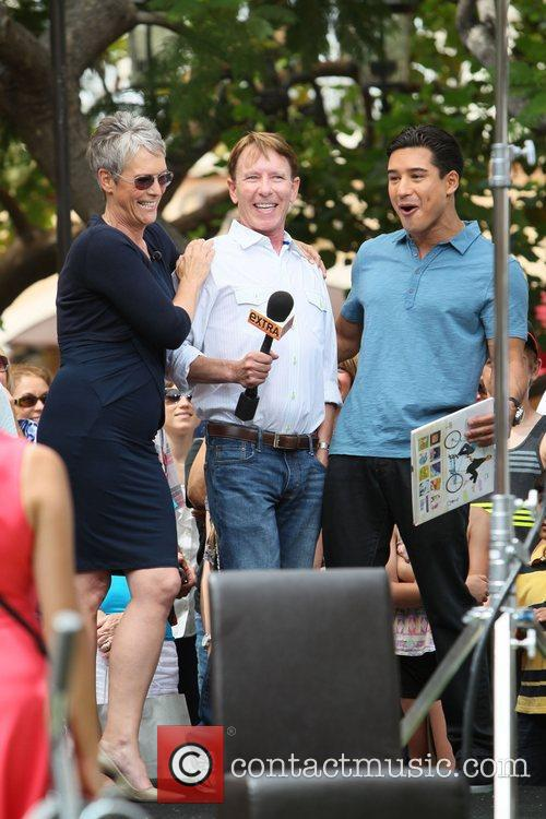 Jamie Lee Curtis and Mario Lopez 11
