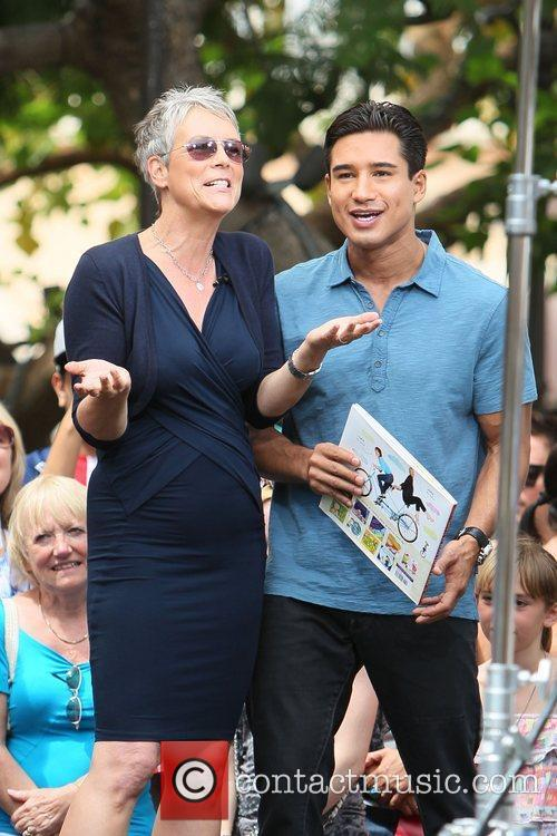 Jamie Lee Curtis and Mario Lopez 12