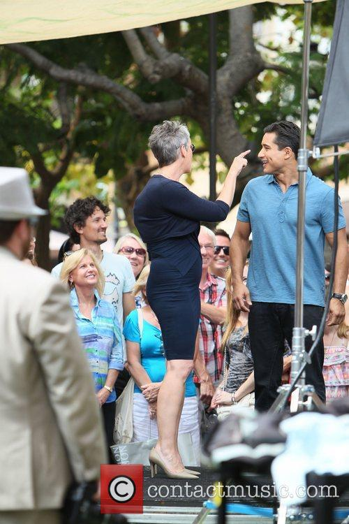 Jamie Lee Curtis and Mario Lopez 15