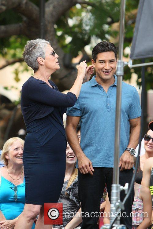 Jamie Lee Curtis and Mario Lopez 16