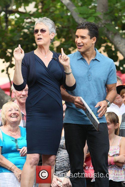 Jamie Lee Curtis and Mario Lopez 22