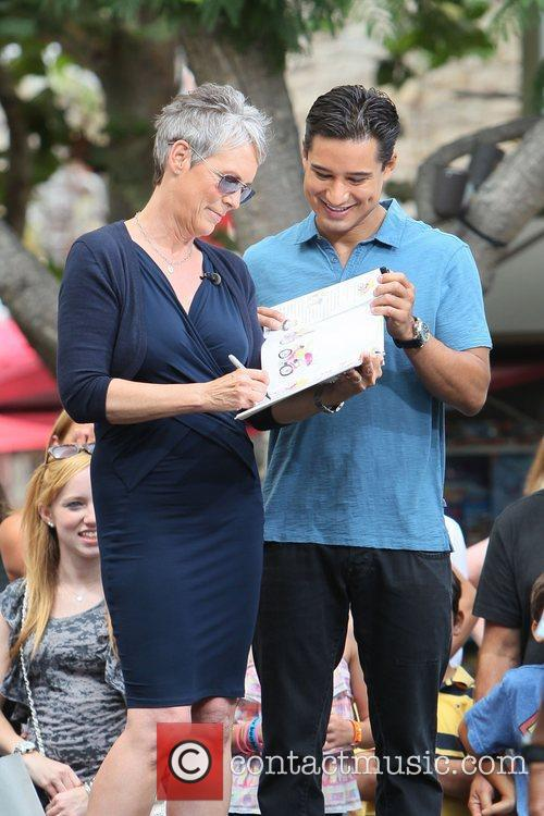 Jamie Lee Curtis and Mario Lopez 23
