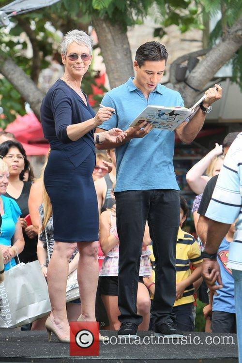 Jamie Lee Curtis and Mario Lopez 24