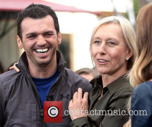 Martina Navratilova and Tony Dovolani 3