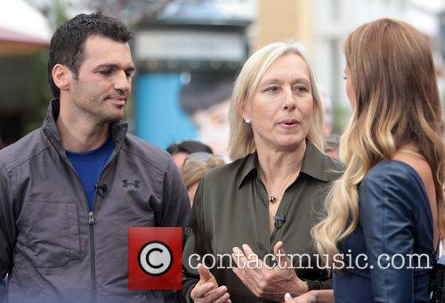 Martina Navratilova and Tony Dovolani 6