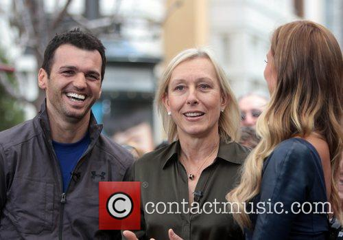 Martina Navratilova and Tony Dovolani 7