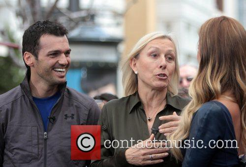 Martina Navratilova and Tony Dovolani 10