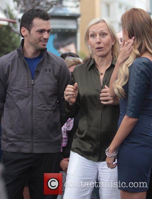 Martina Navratilova and Tony Dovolani 11