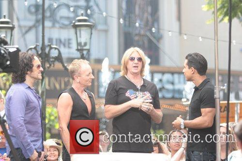 Def Leppard and Mario Lopez 2
