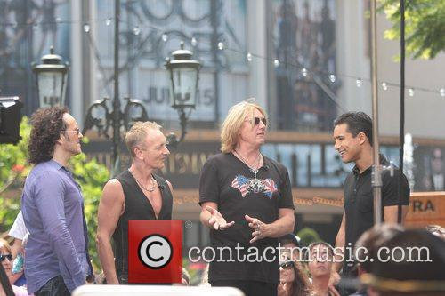 Def Leppard and Mario Lopez 4