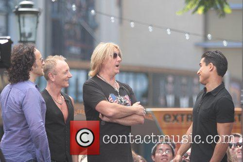 Def Leppard and Mario Lopez 10