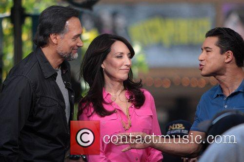 jimmy smits katey sagal and mario lopez 5924726