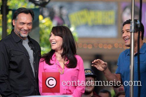Jimmy Smits, Katey Sagal and Mario Lopez 2