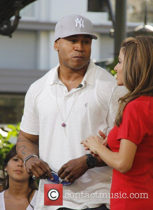 LL Cool J Celebrities at The Grove to...