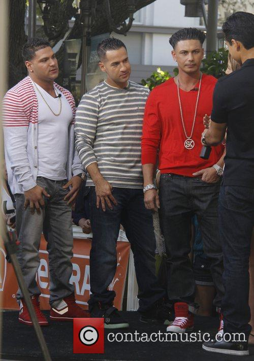 Ronnie Ortiz-Magro, Mike 'The Situation' Sorrentino, Paul 'DJ...