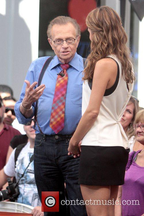 Larry King and Maria Menounos 4