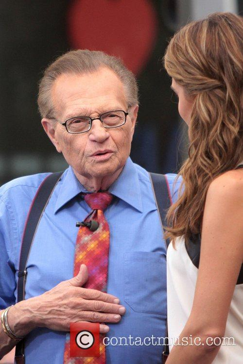 Larry King and Maria Menounos 1
