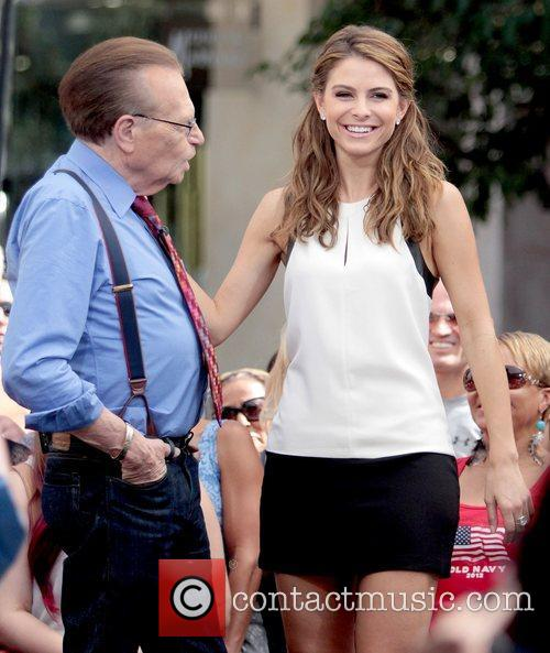 Larry King and Maria Menounos 5