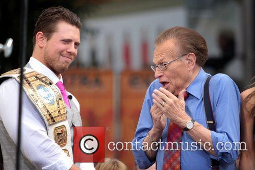 The Miz, Mike Mizanin and Larry King 11