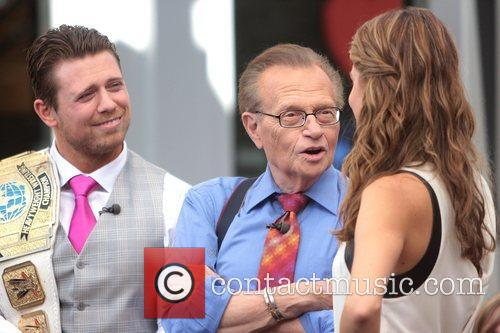 The Miz, Mike Mizanin, Larry King and Maria Menounos 8