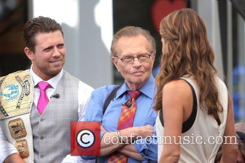 The Miz, Mike Mizanin, Larry King and Maria Menounos 6