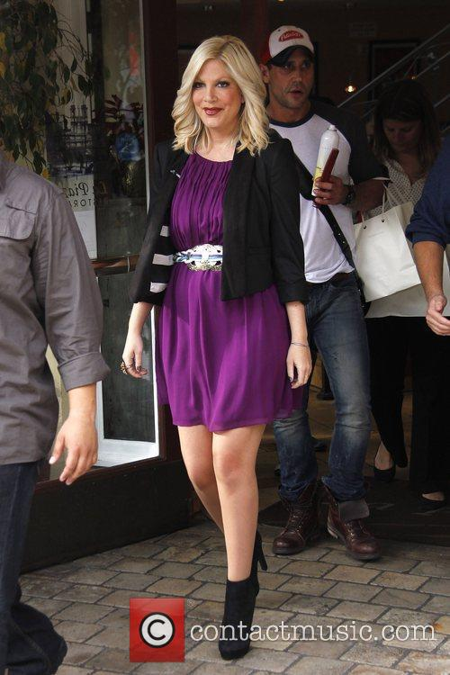 Tori Spelling Celebrities at The Grove to appear...