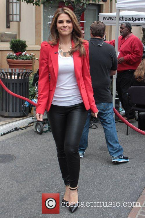 maria menounos celebrities at the grove to 5946444