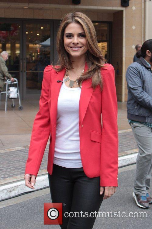 maria menounos celebrities at the grove to 5946447