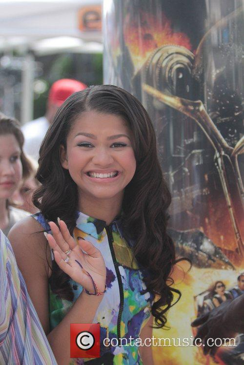 Zendaya Coleman Celebrities at The Grove to appear...