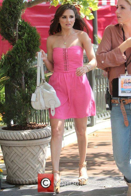 Rachael Leigh Cook Celebrities at The Grove for...