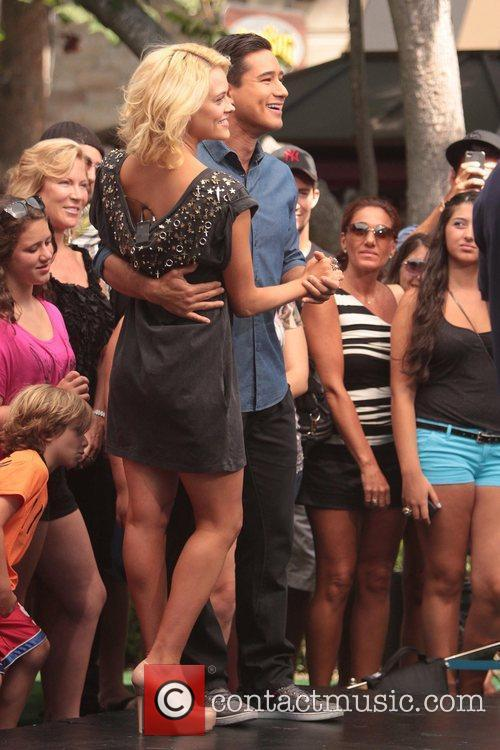Dancing With The Stars and Peta Murgatroyd 1