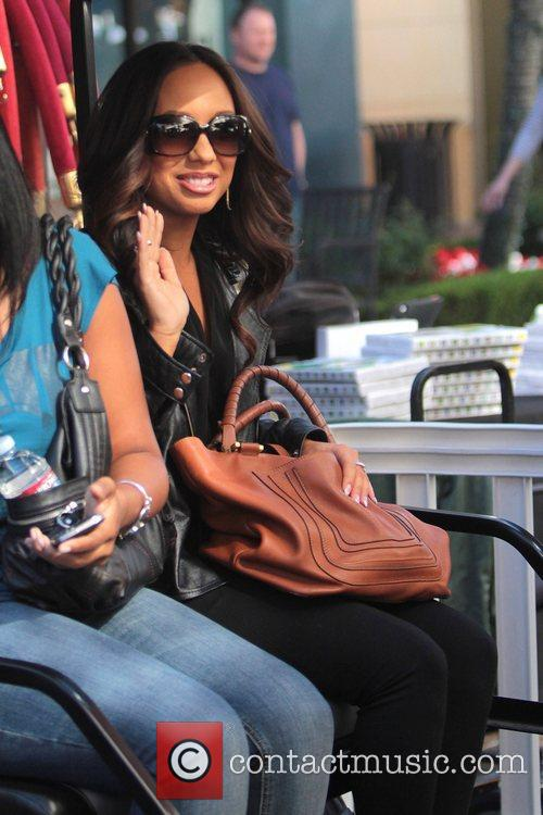 Cheryl Burke Celebrities at The Grove to appear...