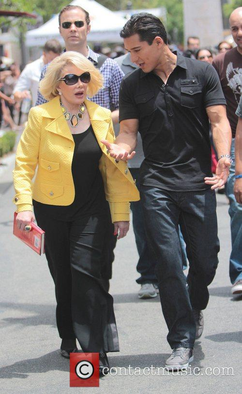 Joan Rivers and Mario Lopez 2