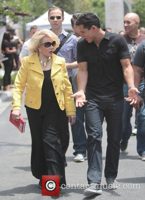 Joan Rivers and Mario Lopez 3