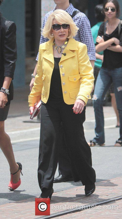 joan rivers celebrities at the grove to 5864318