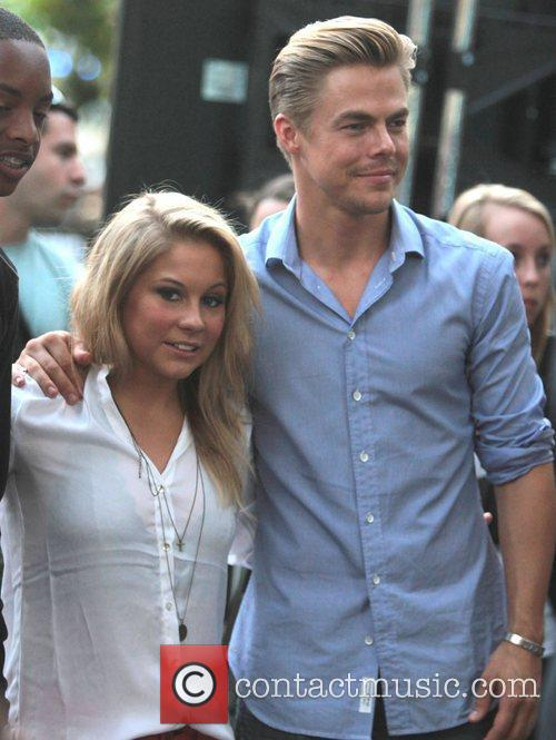 Derek Hough and Shawn Johnson 3