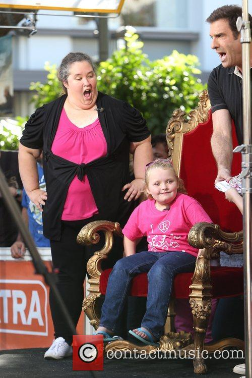 Here Comes Honey Boo, Boo, Alana Thompson and Mama June 9
