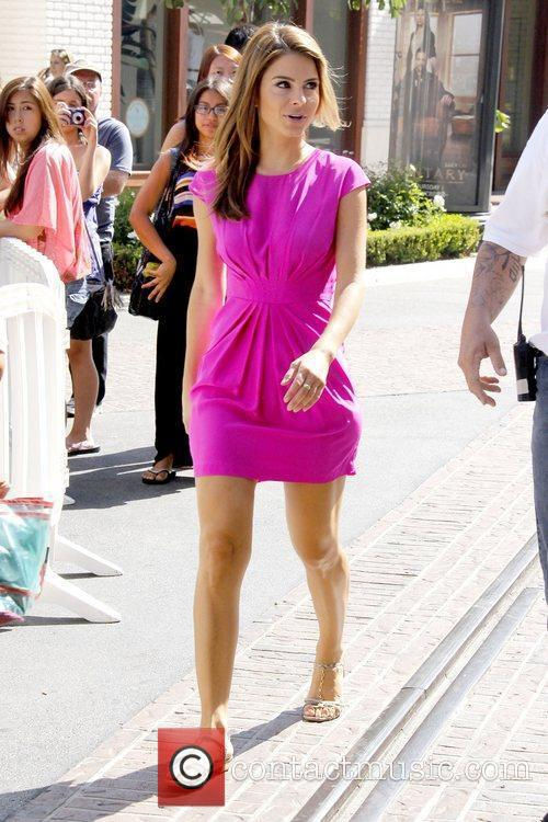 maria menounos at the grove to appear 5894540