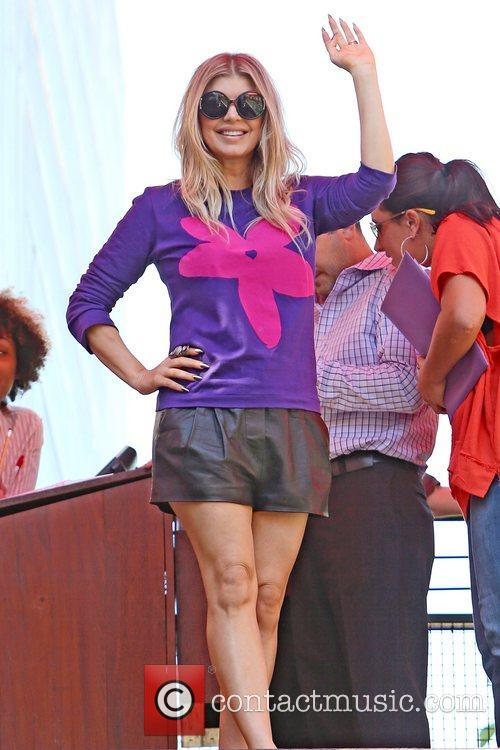 Fergie seen at The Grove to appear on...